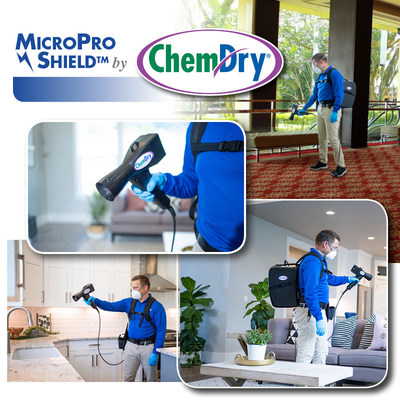Chem-Dry launches MicroPro Shield service, offering antimicrobial protection for up to 90 days. The new service disinfects & uses patented technology to offer extended surface protection for homes and businesses.