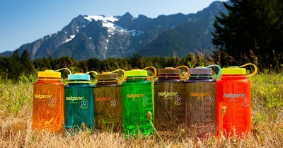 "Nalgene Outdoor is first to market with a unique sustainable reusable water bottle made from 50% transformed 'trash,"" Nalgene Sustain. These new bottles are made from 50% certified recycled material from waste with Tritan™ Renew. This revolutionary technology rescues single use plastic materials from landfills and transforms what was once waste into safe, durable, performance-oriented recycled material ideal for reusable consumer goods.  The bottles, which deliver the same high quality, leak-proof, BPA- and BPS-free, food-safe bottles Nalgene consumers expect, are available now on Nalgene.com at an MSRP of $14.95"
