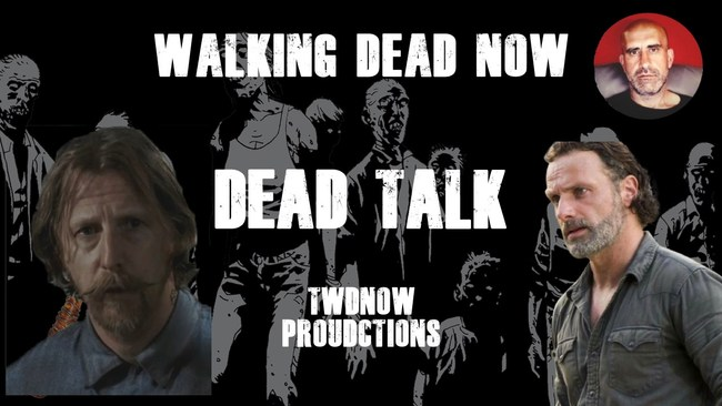 """Lew Temple Is Our Special Guest on """"Dead Talk"""" Live"""