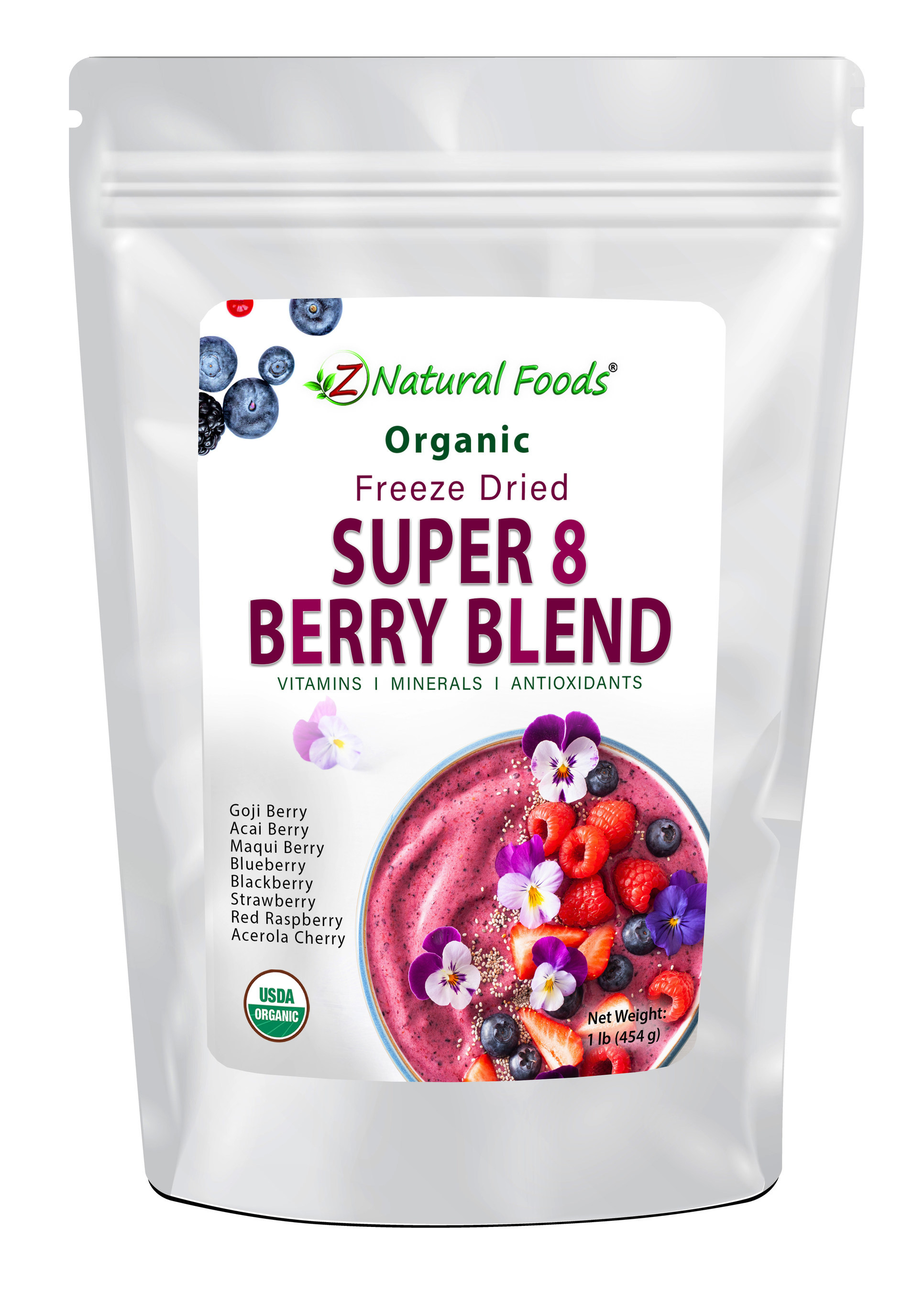 Z Natural Foods Announces New Organic Freeze Dried Berry Blend