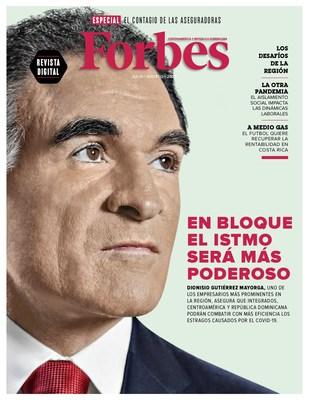 Dionisio Gutiérrez en portada de Forbes Centroamérica aboga por la integración