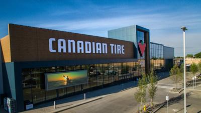 Magasin du Groupe détail Canadian Tire à Edmonton (Alberta) au Canada (Groupe CNW/SOCIÉTÉ CANADIAN TIRE LIMITÉE)