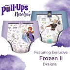 """Pull-Ups® Introduces New Leaf™, a Super Soft Training Underwear with Plant-Based* Ingredients featuring Exclusive Designs from Disney's """"Frozen II"""""""