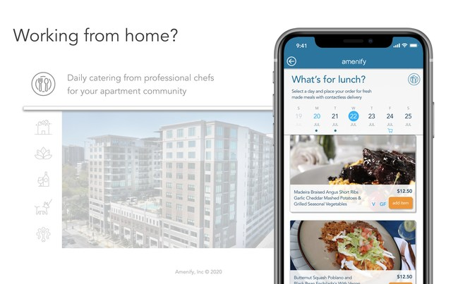The next amenity for apartment living: Catering Services from Amenify