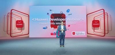 Webinar de Desenvolvedores da Huawei: conectando transmissões ao vivo (LIVEs) com o comércio eletrônico