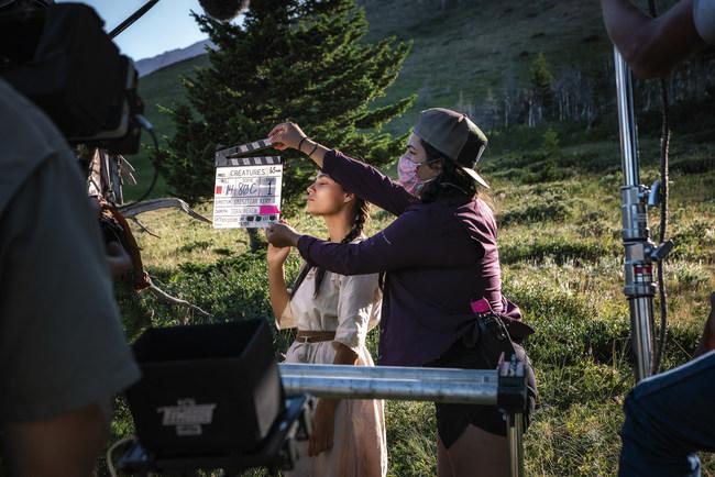 """Creatures"": Filming is underway at the Blackfeet Reservation in Northern Montana"