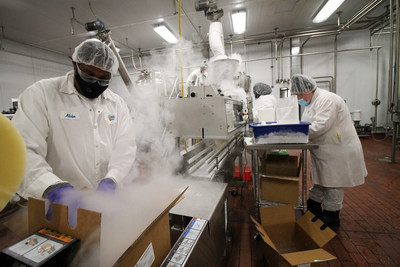 Dippin' Dots Debuts New Manufacturing Facility, Spurred by Growth of Cryogenic Division