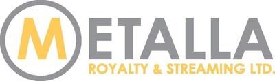 Metalla Royalty & Streaming Ltd. Logo (CNW Group/Metalla Royalty and Streaming Ltd.)