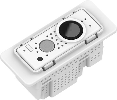 SpectraSAFE-enabled luminaires feature a compact, high-resolution Full HD camera (2.8mm, 144-degree FOV), an integrated infrared light source for low or no light conditions and an integrated microphone and speaker enabling two-way audio communication between security staff and building occupants.