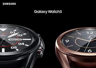 Samsung Galaxy Watch3 (CNW Group/Samsung Electronics Canada Inc.)