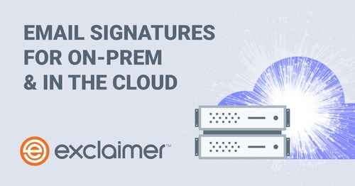 Exclaimer launches a new way to design and manage email signatures for Microsoft Exchange users