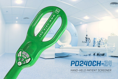 CEIA USA Introduces Dual Sensing, Portable Hand-Held Patient Screener For MRI Zone 4 Safety