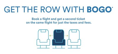 Alaska Airlines launches BOGO and 'Get the Row' sale for travel systemwide. Middle seats blocked on all mainline flights through Oct. 31.