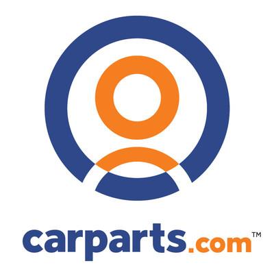 carparts.com logo - blue/orange white