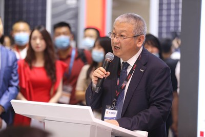 LONGi_Green_Energy_Technology_Mr__Li_Zhenguo_giving_speech