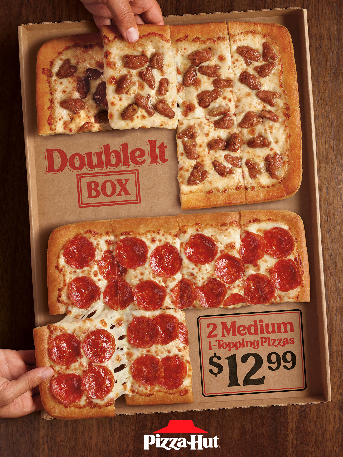 Pizza Hut Solves The Family Food Feud With All New Double It Box