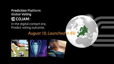Lanzamiento de COJAM en Europa, la primera Plataforma de Predicción Global llega a España