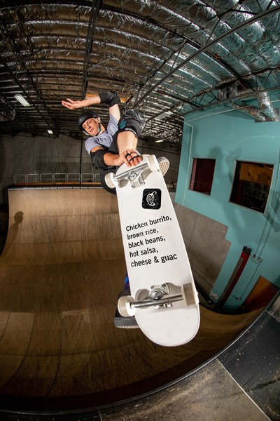 Chipotle is teaming up with skating legend and brand superfan Tony Hawk to offer his go-to Chipotle order exclusively on the Chipotle app and Chipotle.com. The first 2,000 fans who order the Tony Hawk Burrito will get access to the Tony Hawk's™ Pro Skater™ 1 and 2 Warehouse Demo for PlayStation 4, Xbox One, or PC.