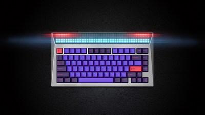 Angry Miao lance le CYBERBOARD, le premier clavier mécanique au monde doté d'un panneau DEL personnalisé sur Indiegogo 2.