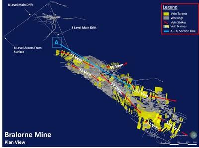 Map 2 (CNW Group/Talisker Resources Ltd)