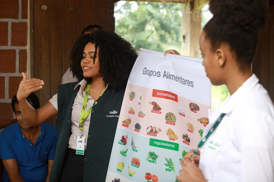 Cargill works to positively impact communities where employees live and work