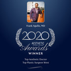 Frank Agullo, MD, FACS wins Top Aesthetic Doctor and Top Plastic Surgeon West in the Aesthetic Everything® 2020 Aesthetic and Cosmetic Medicine Awards