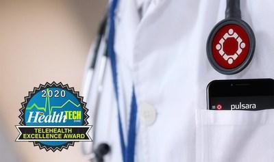Pulsara Receives 2020 HealthTechZone Telehealth Award