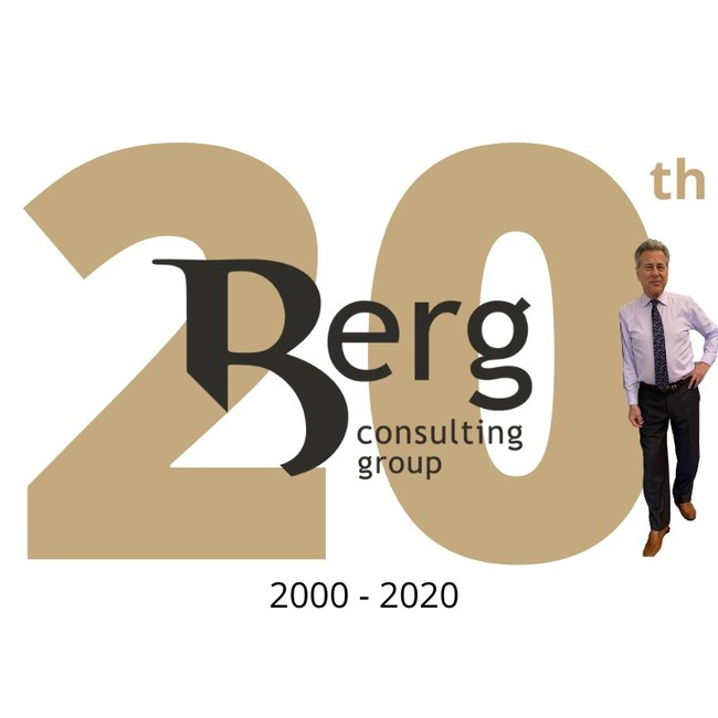 Berg Consulting Group's 20th Anniversary Year