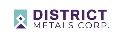 District Metals Corp. Logo (CNW Group/District Metals Corp.)