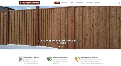 Viance launches DesignWood.com for pre-colored, preservative treated wood.