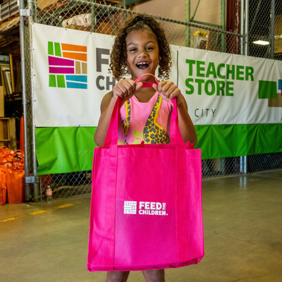 Students and teachers can receive free school supplies and food at Feed the Childen's Teacher Store locations throughout the U.S.