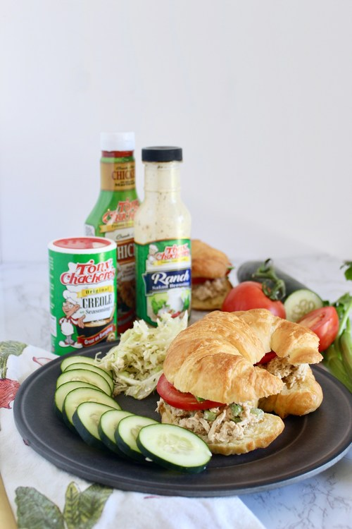 Kait's Kitchen shows us how to use chicken and Tony Chachere's to make three of the best and quickest meals of the week – Tony's Shredded Chicken Salad Croissants, Tony's Chicken Taquitos and Tony's Chicken and Bacon Pinwheels.