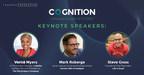 Former HubSpot CRO Mark Roberge Joins Vernā Myers and Steve Gross to Deliver Keynotes at COGNITION 2020