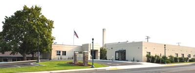 The main entrance to Syringa Hospital in Grangeville, Idaho.