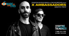 X Ambassadors Teams up with Foundation Fighting Blindness and Two Blind Brothers to Launch Music to our Eyes Exclusive Livestream Music Series