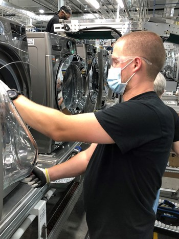 The million-square-foot plant has increased LG's competitiveness in the U.S., increasing speed to market and responsiveness to changing market conditions.