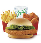 Wendy's 4 For $4 Meal Deal Gets Hotter With The Introduction Of The New Spicy Crispy Chicken Sandwich