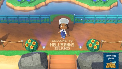 Hellmann's Island - Welcome! (CNW Group/Hellmanns)