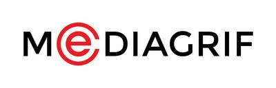 Logo : Mediagrif (Groupe CNW/Technologies Interactives Mediagrif Inc.)