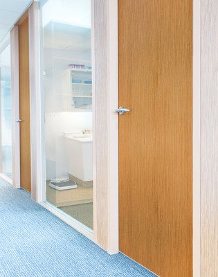 Smooth Grain Stainable Steel Doors from Ceco Door and Curries