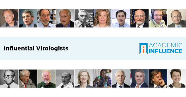 The world's leading virus experts   AcademicInfluence.com