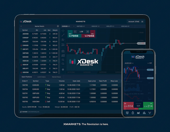 XMarkets Mobile Apps
