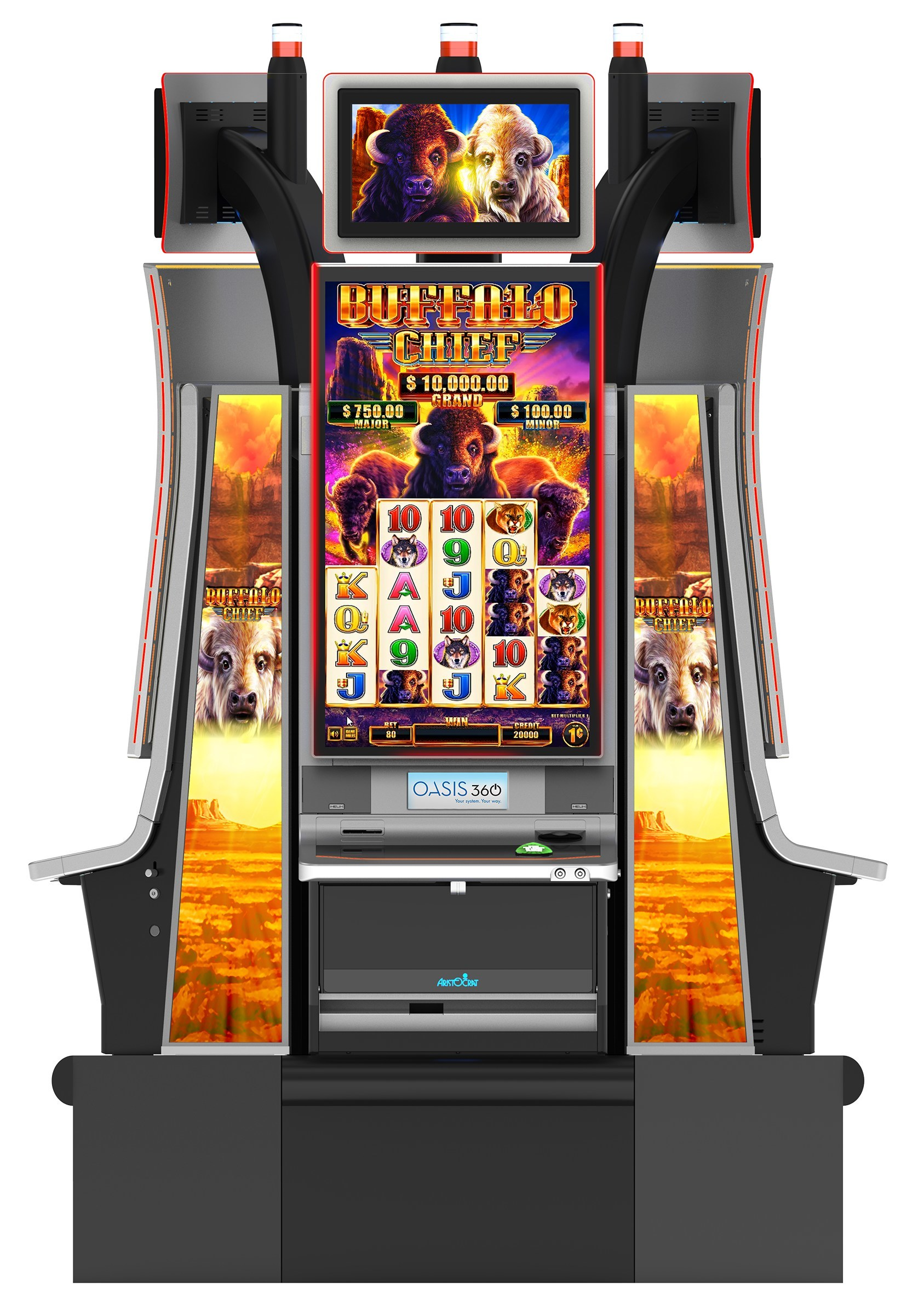 Aristocrat Technologies' New Buffalo Chief™ Slot Game Thunders into  Seminole Hard Rock Hollywood for World Premiere