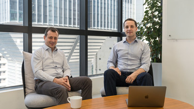 David Rosa, CEO & Co-Founder; Igor Wos, CTO & Co-Founder