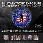 Military Toxic Exposure Virtual Conference Introduces New Bill to Bring National Awareness