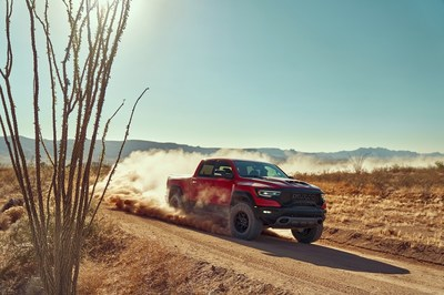 All-new 2021 Ram 1500 TRX: Quickest, Fastest and Most Powerful Mass-produced Truck in the World with 702-horsepower 6.2-liter Supercharged HEMI® V-8 Engine
