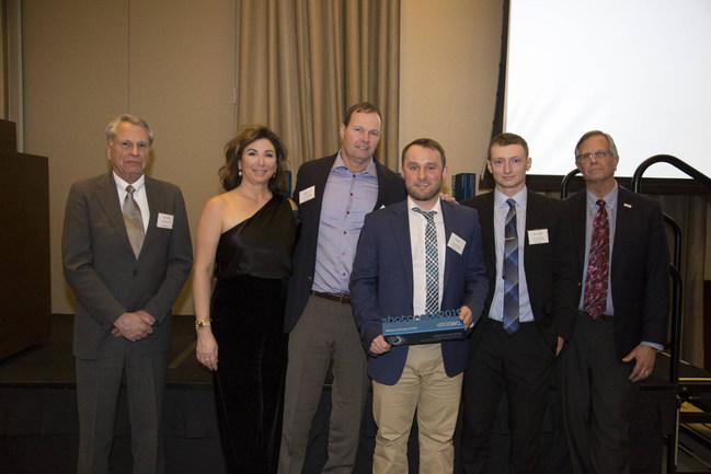 (Left to Right:) Aaron Poole (ASA President), Lisa Maloney, Dan Maloney, Billy Roy, Aaron Elkins, Charles Hanskat (ASA Executive Director)
