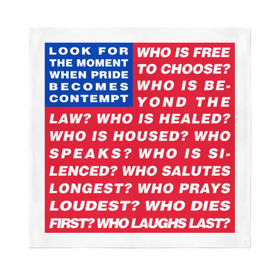 Barbara Kruger, Untitled (Flag)