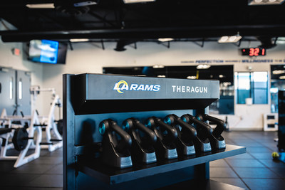The Los Angeles Rams are partnering with Therabody™, formerly known as Theragun®, making the LA-based company and global leader in tech wellness and recovery the team's official percussive therapy partner. The partnership will provide Los Angeles Rams players and staff education on the benefits of activation and recovery using Theragun Percussive Massage Therapy devices to maximize player performance and training.