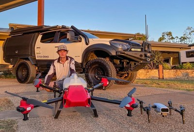 Australia's Younger Agricultural Workforce Step up with XAG Drone for the Soaring Winter Crops